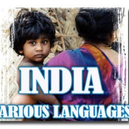 VARIOUS INDIA LANGUAGES