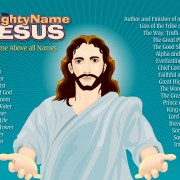 Poster of name of jesus