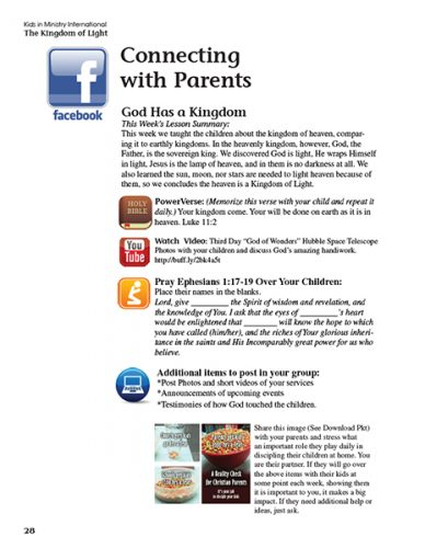 connecting with parent