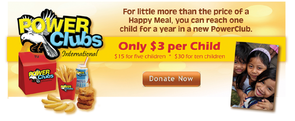 Happy Meal - DONATE NOW