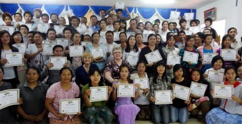 Burmese graduation