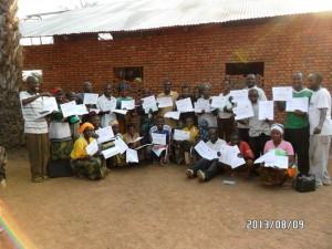 25 Graduates in Kabonga, Makamba.