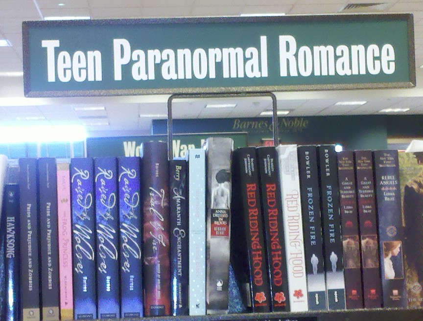 Teen Paranormal Books