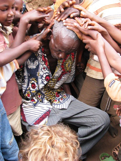 old man healed in burundi