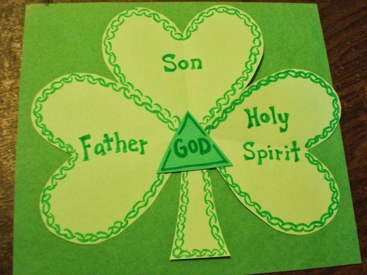 Lucky Shamrock or the Trinity? Happy St  Patrick's Day